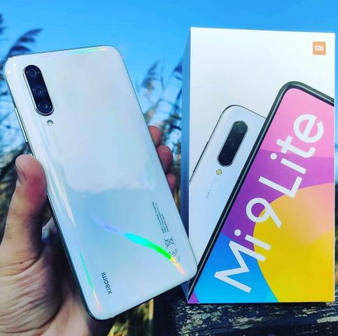 Celular Smartphone Xiaomi Mi 9 lite 64 branco novo na caixa