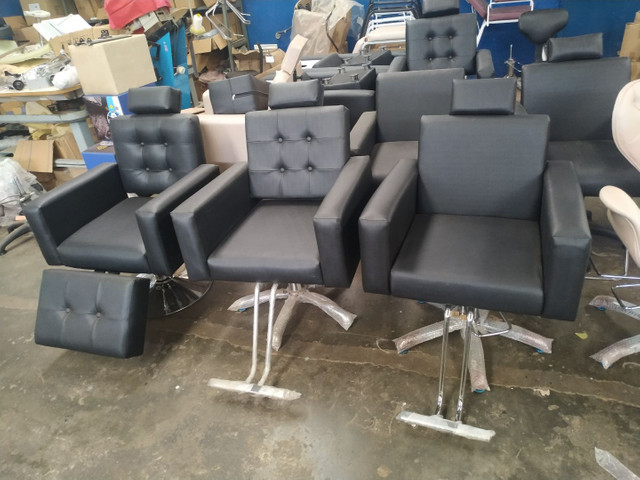 Cadeira hidráulica salão beleza *** fábrica de móveis pra salão de beleza - Foto 4