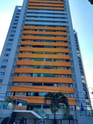 Apartamento na beira mar de Olinda, 3 quartos, móveis planejados, área de lazer