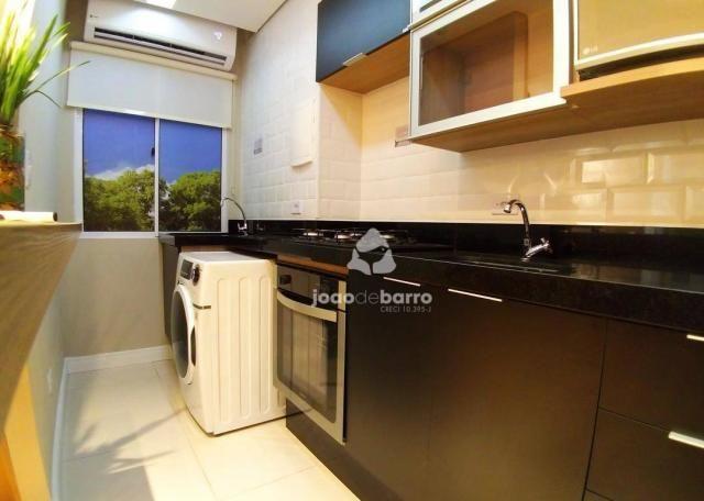 Apartamento com 2 dormitórios à venda, 46 m² por R$ 159.990 - Tijuca - Campo Grande/MS - Foto 2