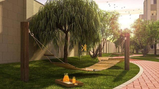 Apartamento com 2 dormitórios sendo 1 suíte reversível à venda, 42 m² por R$ 143.635 - Tam - Foto 6