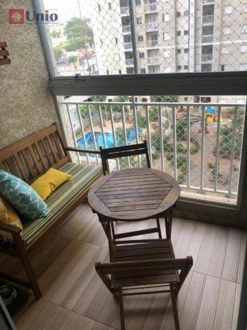 Apartamento com 3 dormitórios à venda, 68 m² por R$ 390.000 - Alto - Piracicaba/SP - Foto 8