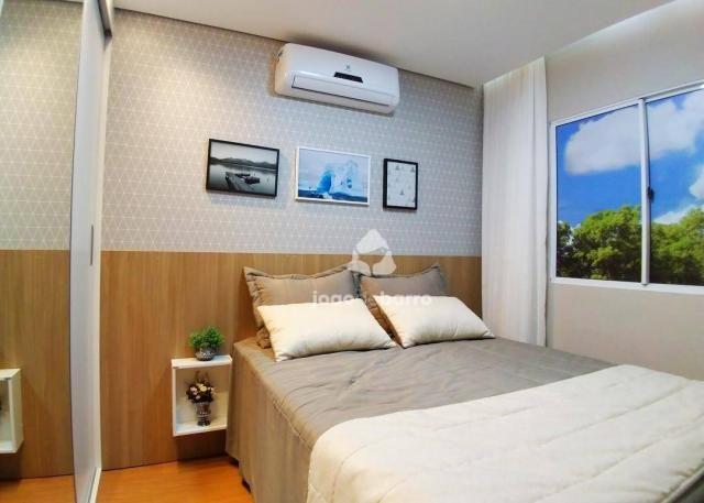 Apartamento com 2 dormitórios à venda, 46 m² por R$ 159.990 - Tijuca - Campo Grande/MS - Foto 5