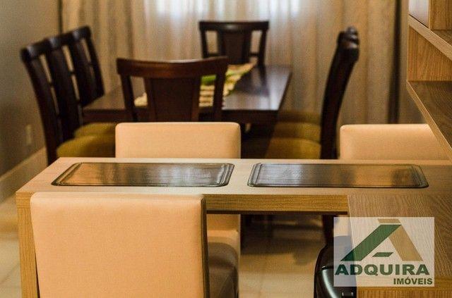 Apartamento com 3 quartos no Edifício Vitória Regia - Bairro Centro em Ponta Grossa - Foto 7