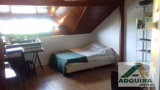 Casa sobrado com 4 quartos - Bairro Orfãs em Ponta Grossa - Foto 7