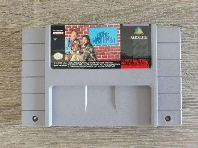 Home Improvement Snes Original Raro Super Nintendo