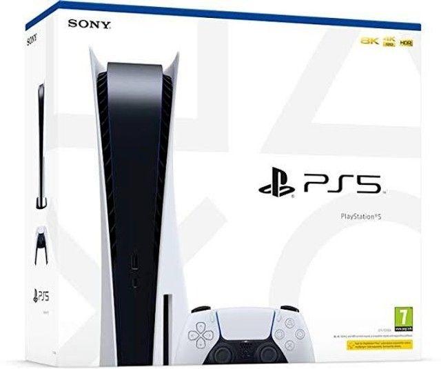 Playstation 5 Midia Fisica - 825GB- Com jogo - Nota Fiscal - Garantia de 12 meses - Foto 2