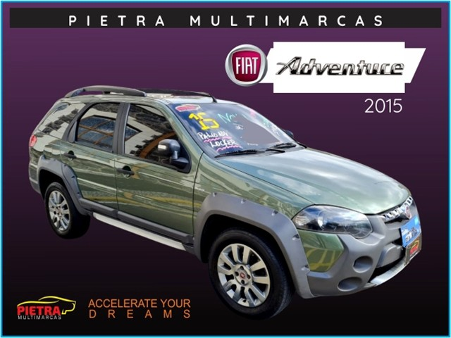 Fiat Palio 2015 1.8 mpi adventure weekend 16v flex 4p automático