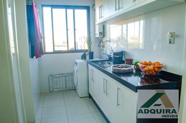 Apartamento com 3 quartos no Edifício Vitória Regia - Bairro Centro em Ponta Grossa - Foto 8