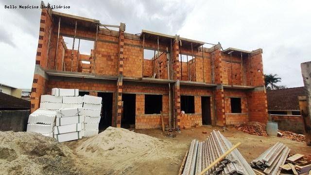 Sobrado Geminado para Venda em Joinville, Iririú, 2 dormitórios, 2 suítes, 3 banheiros, 2  - Foto 9