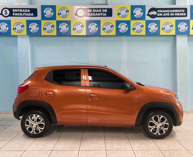 Renault Kwid Intensive 2019 completo! ipva e transferência grátis!!! - Foto 9