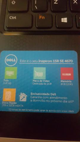 Notebook gemer Dell i7