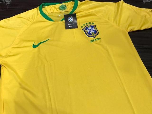 Camiseta Dry Fit Seleção Brasileira Ape nas 30.00