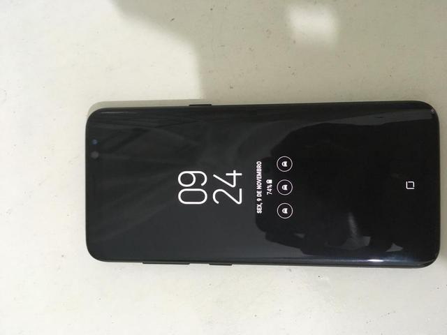 Samsung S8 muito novo! (Apenas n está carregando no turno)