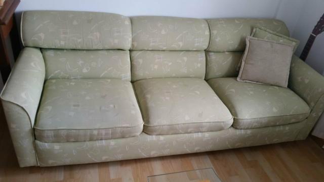 Jogo de sofá em bom estado