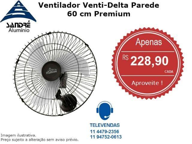 Ventilador Venti-Delta Parede 60 cm Premium