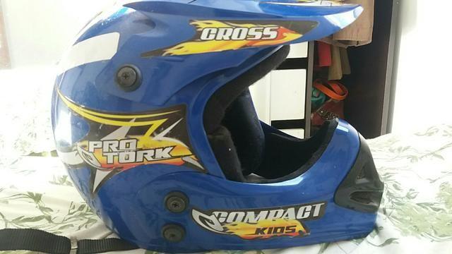 Vendo capacete pro tork kids