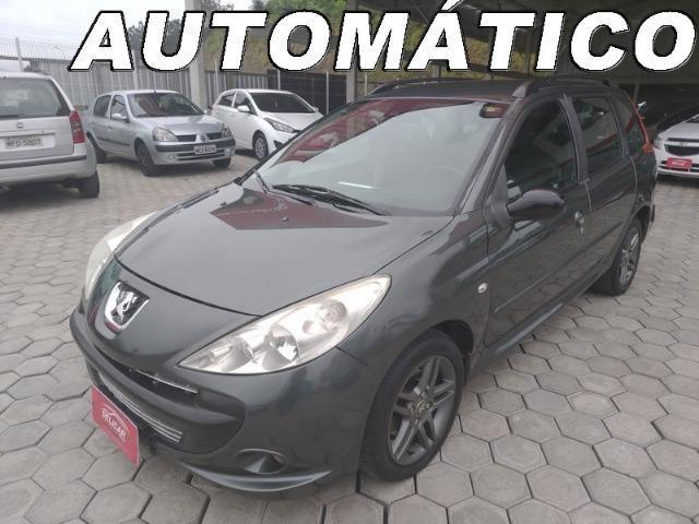 Peugeot 207 SW 1.6 2010 Completo Automatico Financia 100%