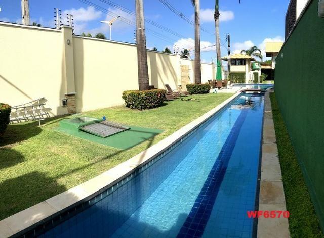 CA1322 Laguna Ville, casa em condomínio com 4 suítes, 3 vagas, área de lazer completa - Foto 12
