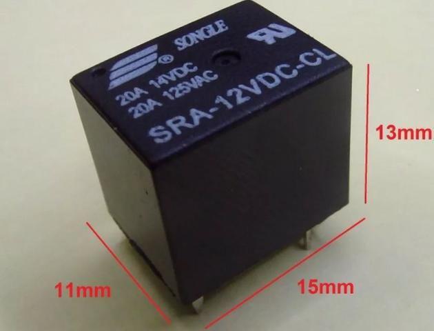 COD-CP269 Kit 2 Unid. Relé 5v 20a Sra-05vdc-cl Arduino Automação Robotica