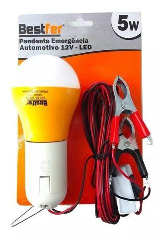 Lampada Led 12v-24v Auxiliar Emergência