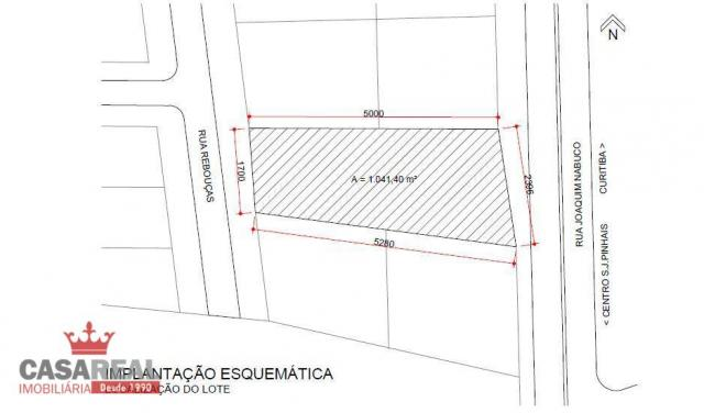 1041,40 m², prox. portal, duas frentes, comercial ou residencial - zr-4 coeficiente 2,5 e  - Foto 10