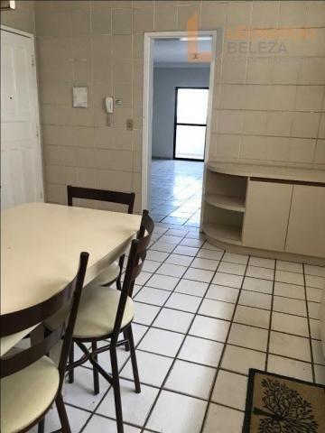 Apartamento com 3 dormitórios à venda, 115 m² - fátima - fortaleza/ce - Foto 4