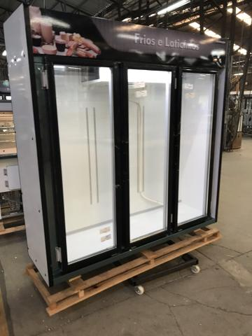 $& geladeira expositora frios e laticínios 3 portas PROMOÇÃO
