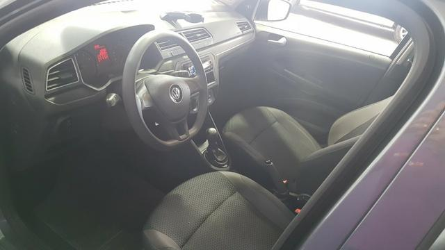 Vw - Volkswagen Gol 1.6 Cinza Metálico 2018 - Foto 7