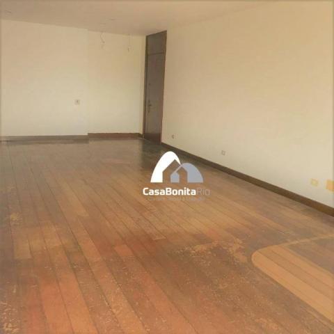 Apartamento com 3 dormitórios à venda, 160 m² - lagoa - rio de janeiro/rj - Foto 8