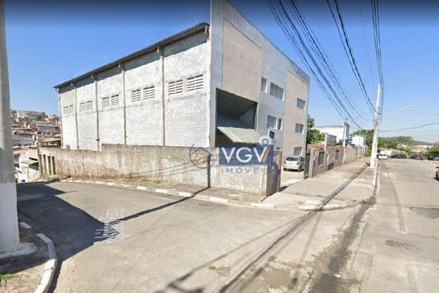 Galpão para alugar, 749 m² por R$ 8.500,00/mês - Chácara do Solar I (Fazendinha) - Santana