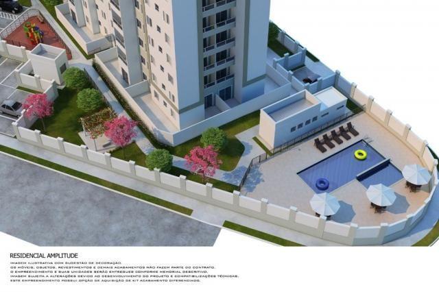 Residencial Amplitude Aptos 38,80 a 48,36m3 1 e 2 Dorms,Sala,Cozinha,Banheiro,com opção de - Foto 5