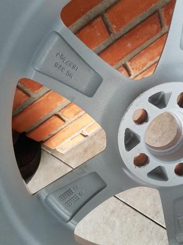 Rodas aro 19 furacão 5 x 100 com pneus - Foto 6