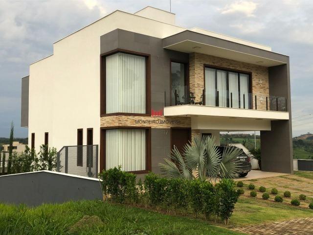 Exclusiva Casa moderna com 4 quartos sendo 3 suítes no Condomínio Alphaville Vespasiano - Foto 3