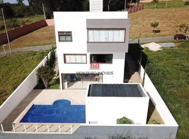 Exclusiva Casa moderna com 4 quartos sendo 3 suítes no Condomínio Alphaville Vespasiano - Foto 18