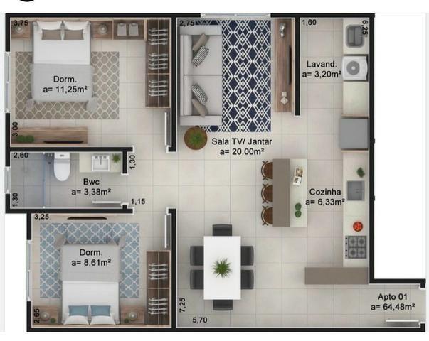 Apartamento Urubici Casa Urubici - Foto 11