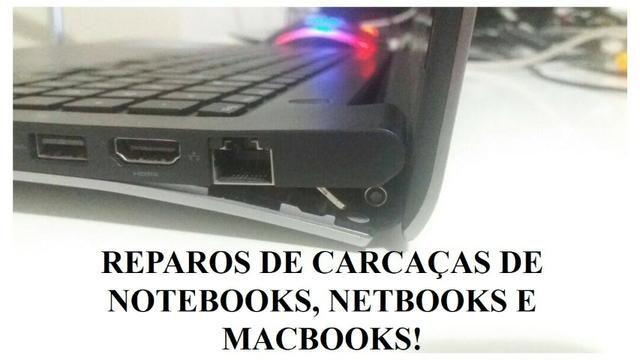 Carcaças de notebooks!