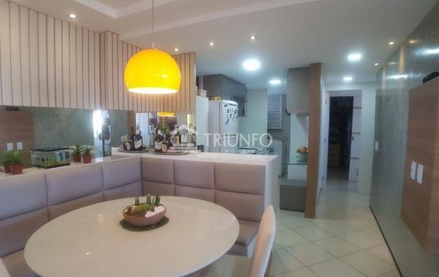 (ESN Tr51827)Apartamento Abarana a venda 64m 2 quartos e 1 vaga Papicu - Foto 4