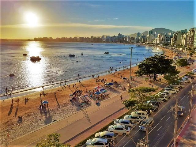 Apartamento Temporada Frente para o Mar Praia do Morro Guarapari (até 20 Pessoas) - Foto 9
