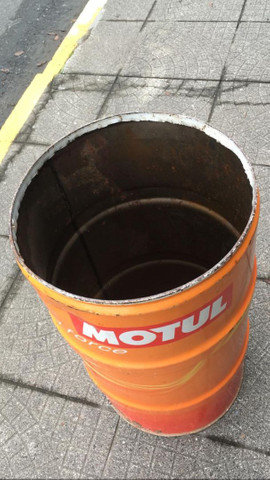 Tambor de lata grande motul para Decoração vintage - Foto 2