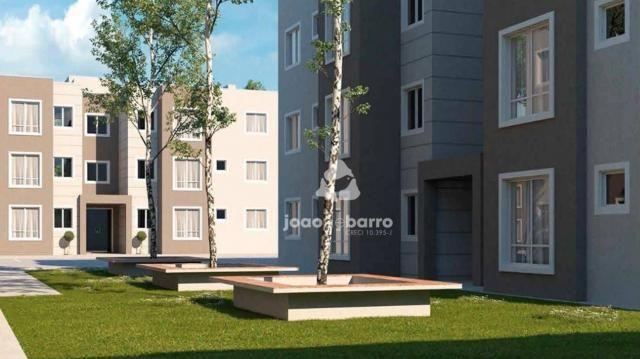 Apartamento com 2 dormitórios à venda, 46 m² por R$ 159.990 - Tijuca - Campo Grande/MS - Foto 15