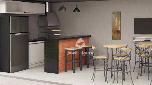 Apartamento com 2 dormitórios à venda, 46 m² por R$ 159.990 - Tijuca - Campo Grande/MS - Foto 11