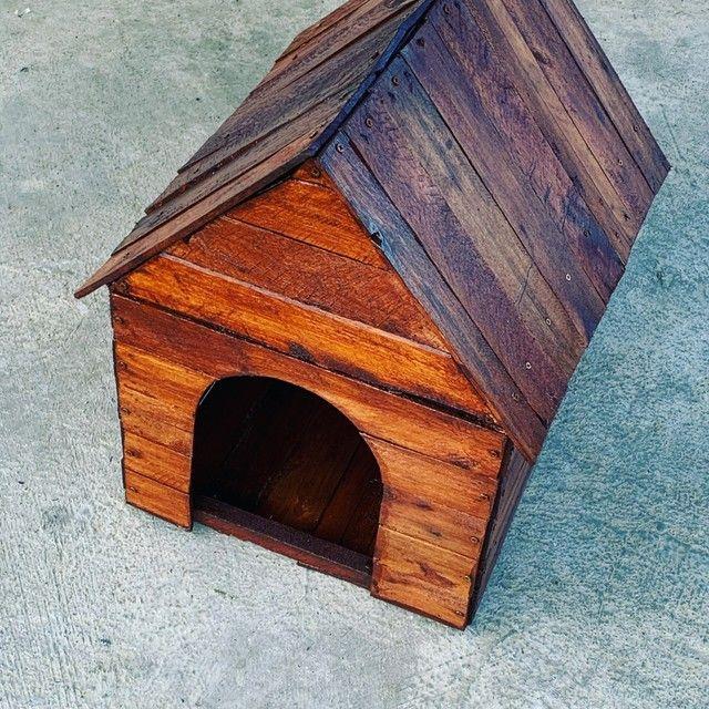 Casas de madeira para animais (caseira)