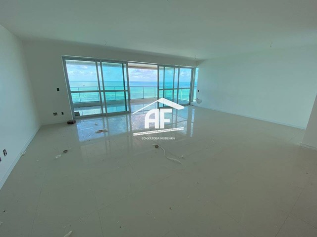 Cobertura nova com Vista total e ampla na beira mar da praia de guaxuma - Foto 6
