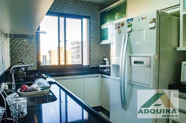 Apartamento com 3 quartos no Edifício Vitória Regia - Bairro Centro em Ponta Grossa - Foto 9