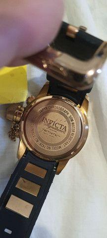 Relógio Invicta Signature II 7427, 52mm, certificado, original, aceito cartões! - Foto 3