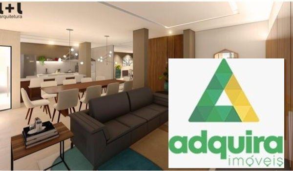 Apartamento com 3 quartos no Edífico Monterrey Palace - Bairro Centro em Ponta Grossa - Foto 2