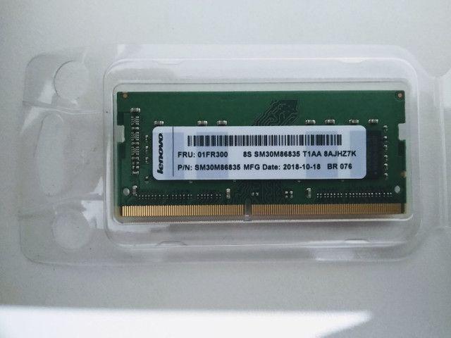Memória RAM 4GB Usada - Notebook (Ideapad 330) - Foto 2