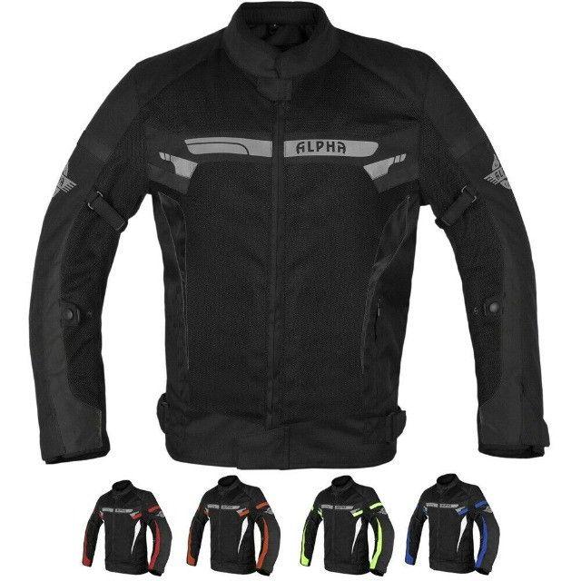 Jaqueta Motociclista com Proteção ajustes Importada - Foto 3