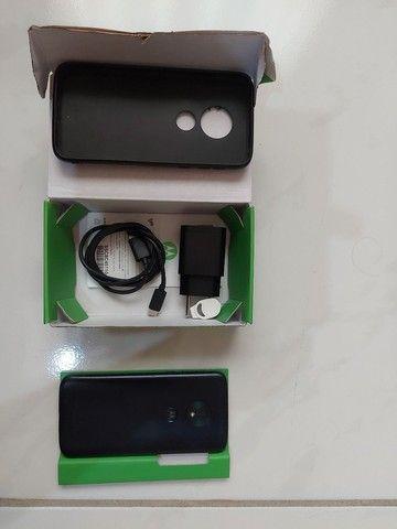 Moto G7 Play 32G novo sem risco sem arranhões  - Foto 3